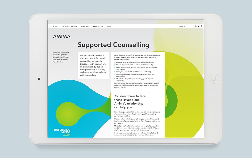 Amima Website