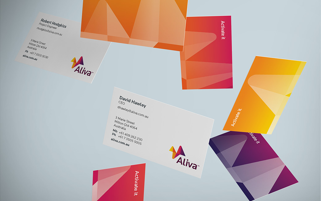 Aliva Business Cards